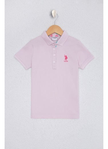U.S. Polo Assn. U.S. Polo Assn. Lila Kız Çocuk T-Shirt Lila